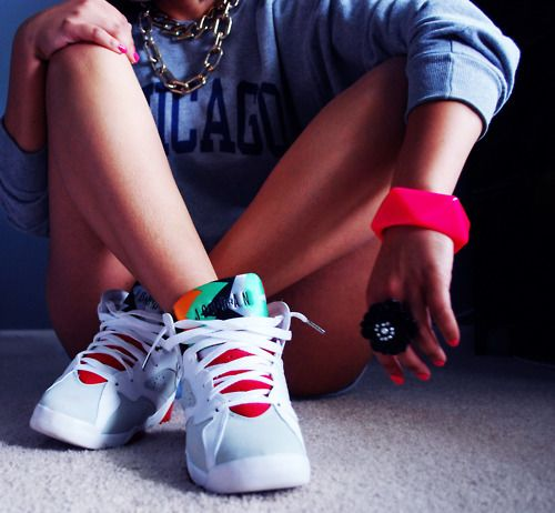 hare 7s on Tumblr. Jordans GirlsAir JordansShoes JordansGirls Wearing ...
