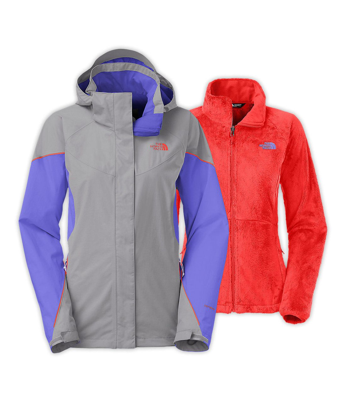 0ce260ad2 North Face Women's Boundary Triclimate Jacket in Mid Grey/Starry ...