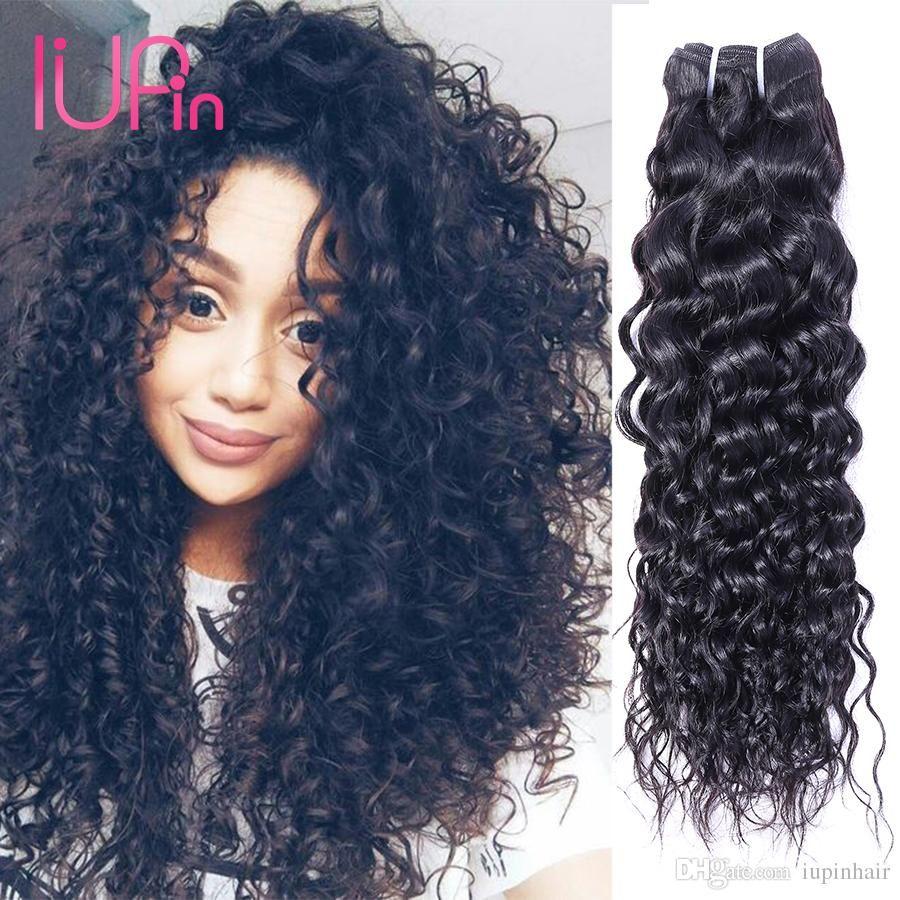 Best Texture Peruvian Hair Weaves Water Wave Virgin Human Hair