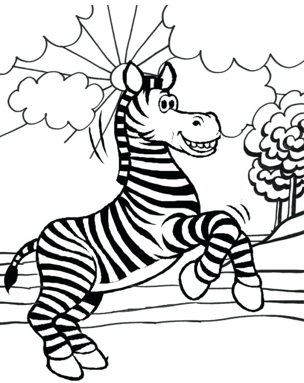 Beautiful Zebra Coloring Pages Free Printable Free Coloring Sheets Zebra Coloring Pages Animal Coloring Pages Zebra Cartoon