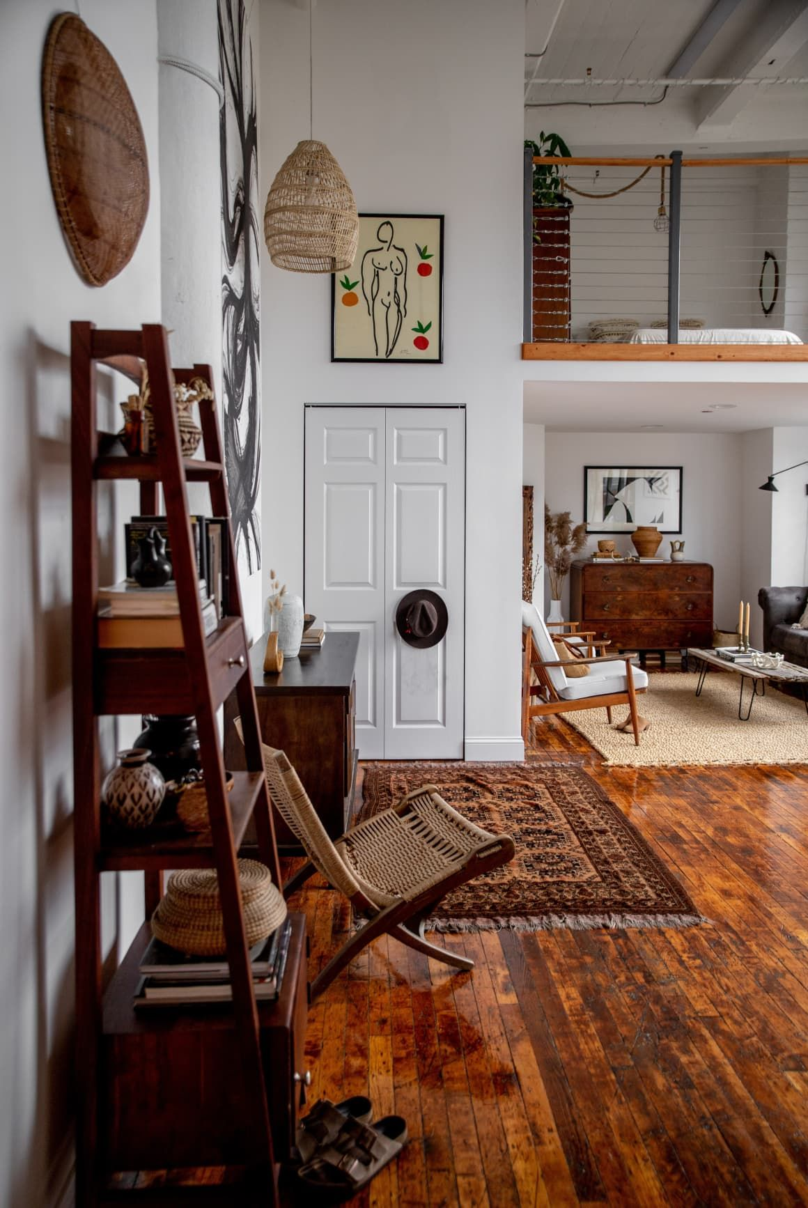 Photo of A Scandinavian-Inspired Studio Apartment For Two Was Furnished With Found Objects