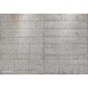 Komar 100 In X 145 In Concrete Blocks Wall Mural 8 938 The Home Depot In 2020 Concrete Block Walls Concrete Blocks Concrete Wallpaper