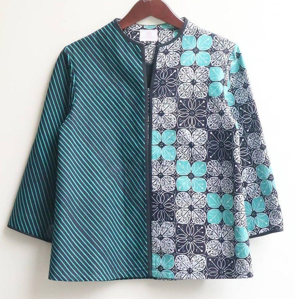 Johanna Batik Top  Desain blus, Baju atasan wanita, Gaya model