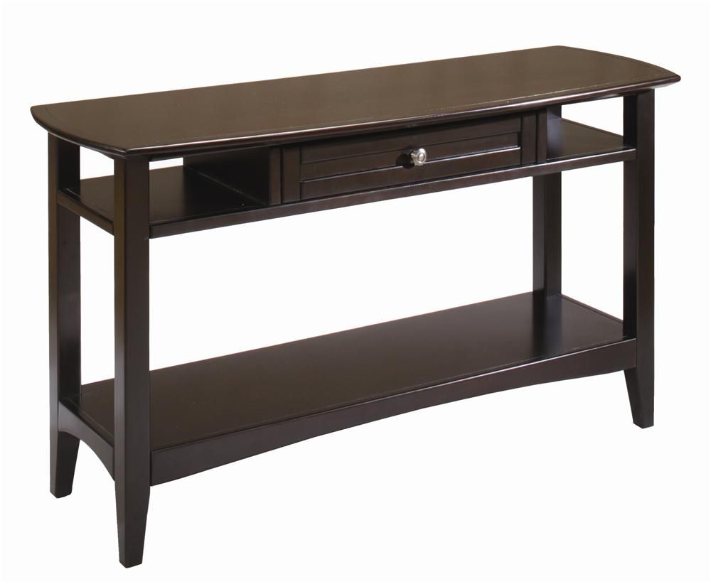 Kensington Sofa Table W Drawer By Aspenhome Gardiners Furniture