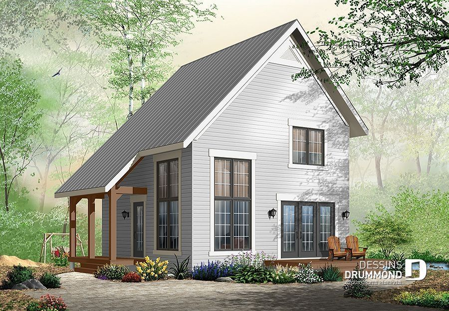56 Tiny House Plans Idea For Your Family Cottage Style House Plans Tiny House Plans Cottage House Plans