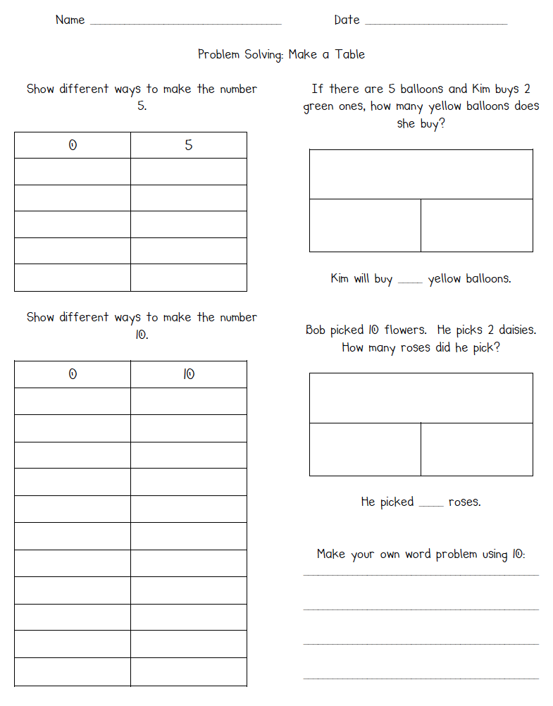 worksheet Addition And Subtraction Word Problems practice solving addition and subtraction word problems with this worksheet that includes tables part