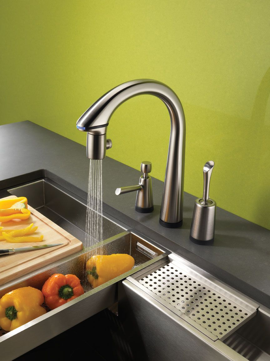 Brizo Pascal Kitchen Faucet | Brizo Denver Showroom | Pinterest ...