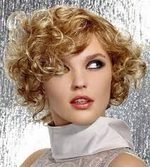 Short Curly Hairstyles For Round Faces Simple Image Result For Short Curly Hairstyles For Round Faces  Cabello