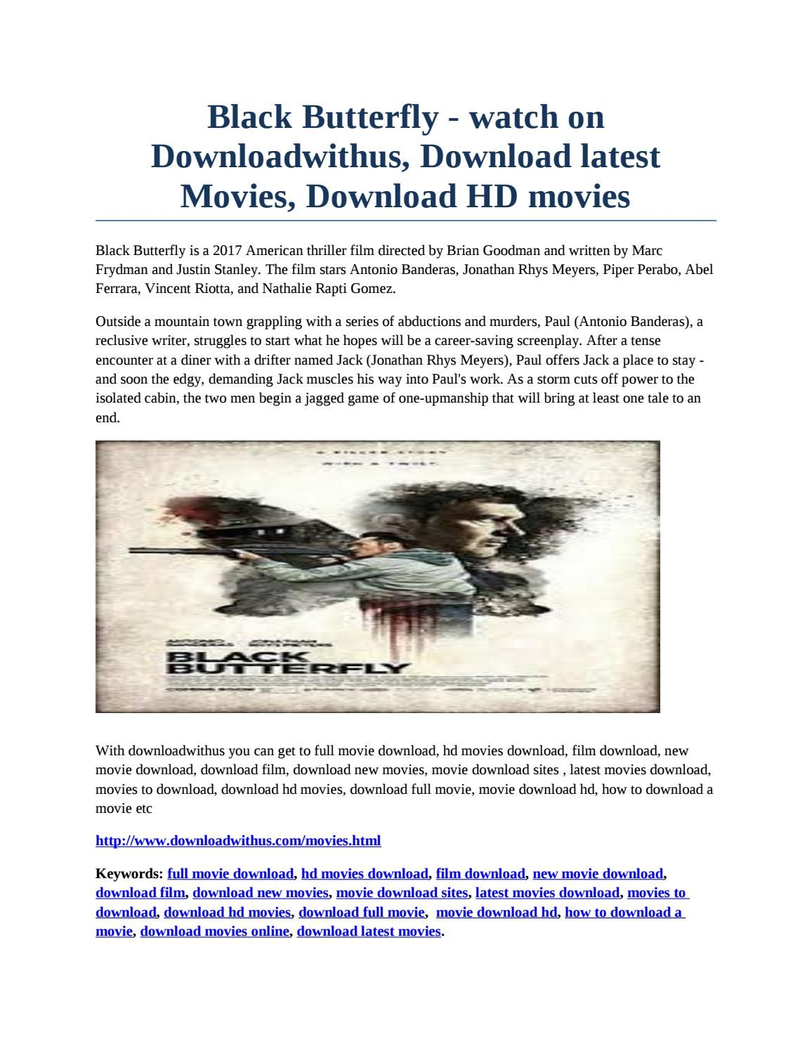black butterfly- watch on downloadwithus, download latest movies