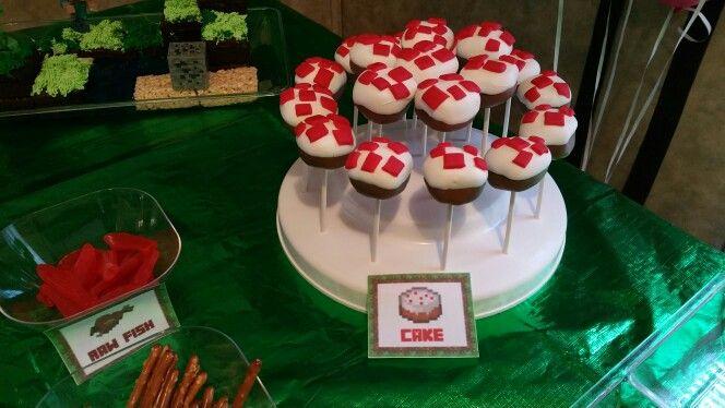 Minecraft cake ppps