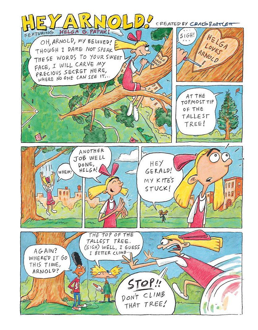 Nick comics 03. Page 1.jpg   Hey arnold, Comics, Cartoon tv