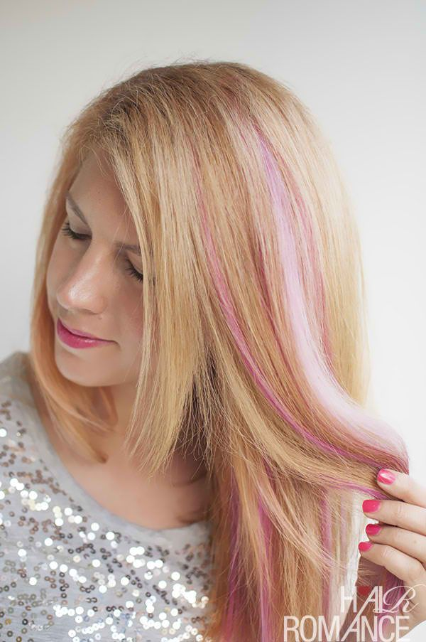 Diy Pink Highlights In Your Hair Hairstyles Pinterest Pink