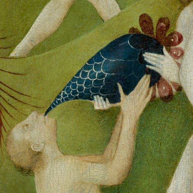 Garden of Earthly Delights (details) by Hieronymus Bosch, 1490-1510.