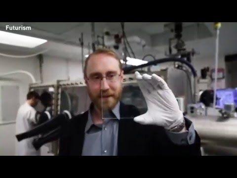 Fully transparent solar cell