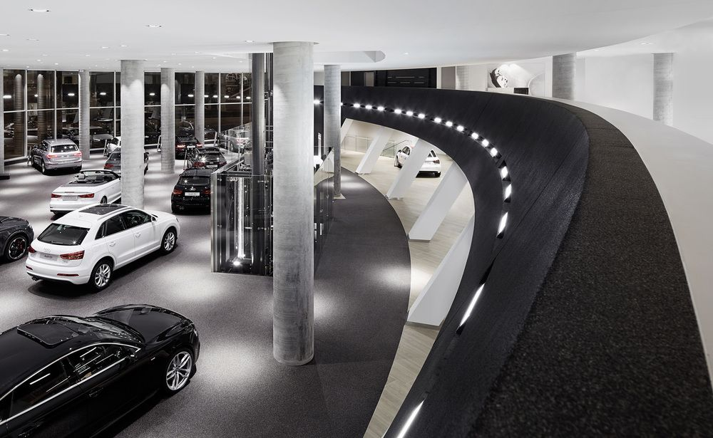Garage Design Contest By Maserati: 501 Swanson: Melbourne's Audi And Maserati Dealership By