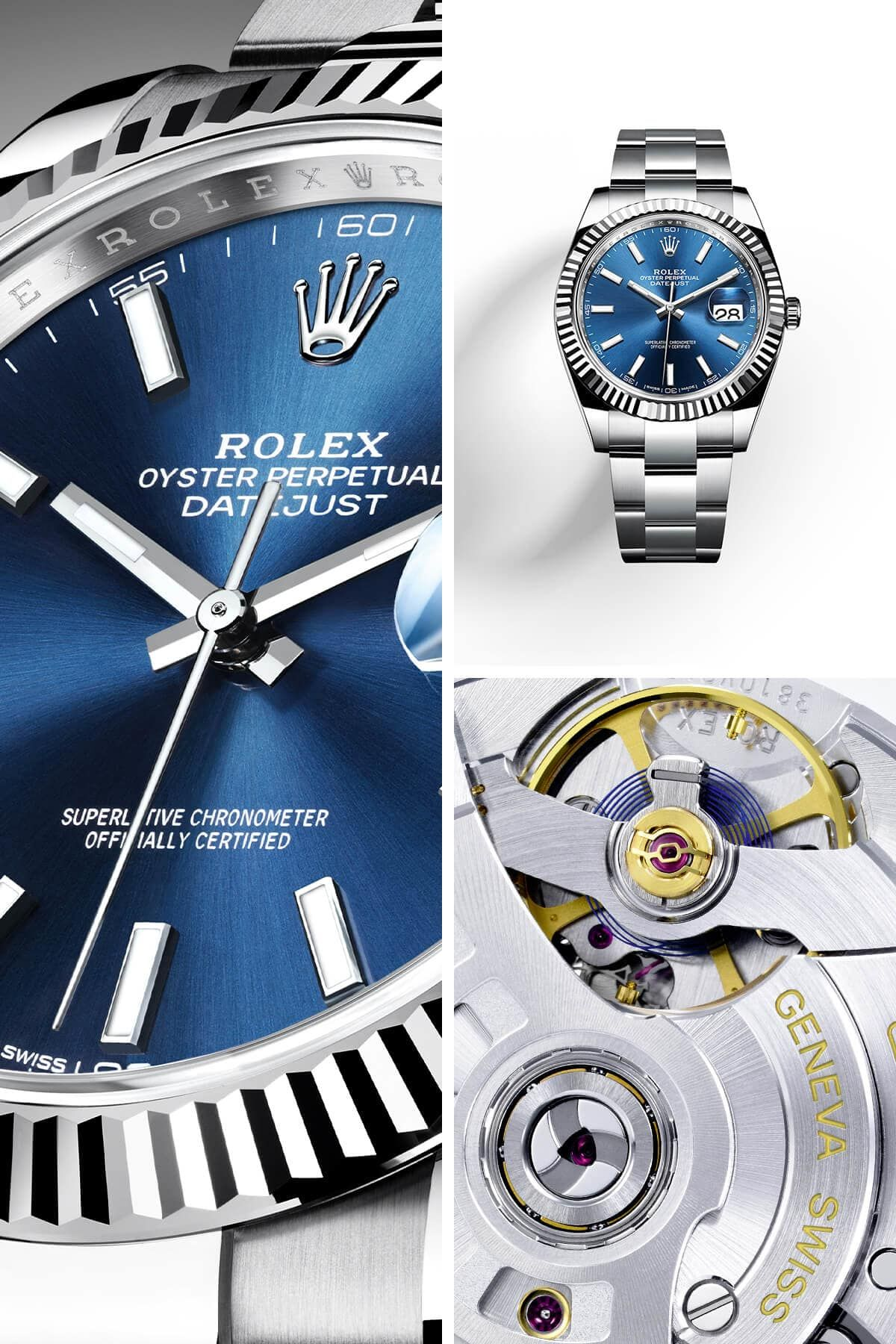 a3e717ce28f Discover the new Rolex Datejust 41 unveiled at Baselworld 2017 ...