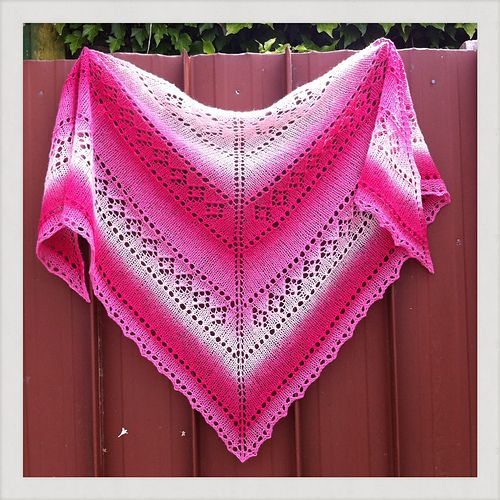 Diamond Crush Pattern By Gabriella Henry Crushes Ravelry And Knit