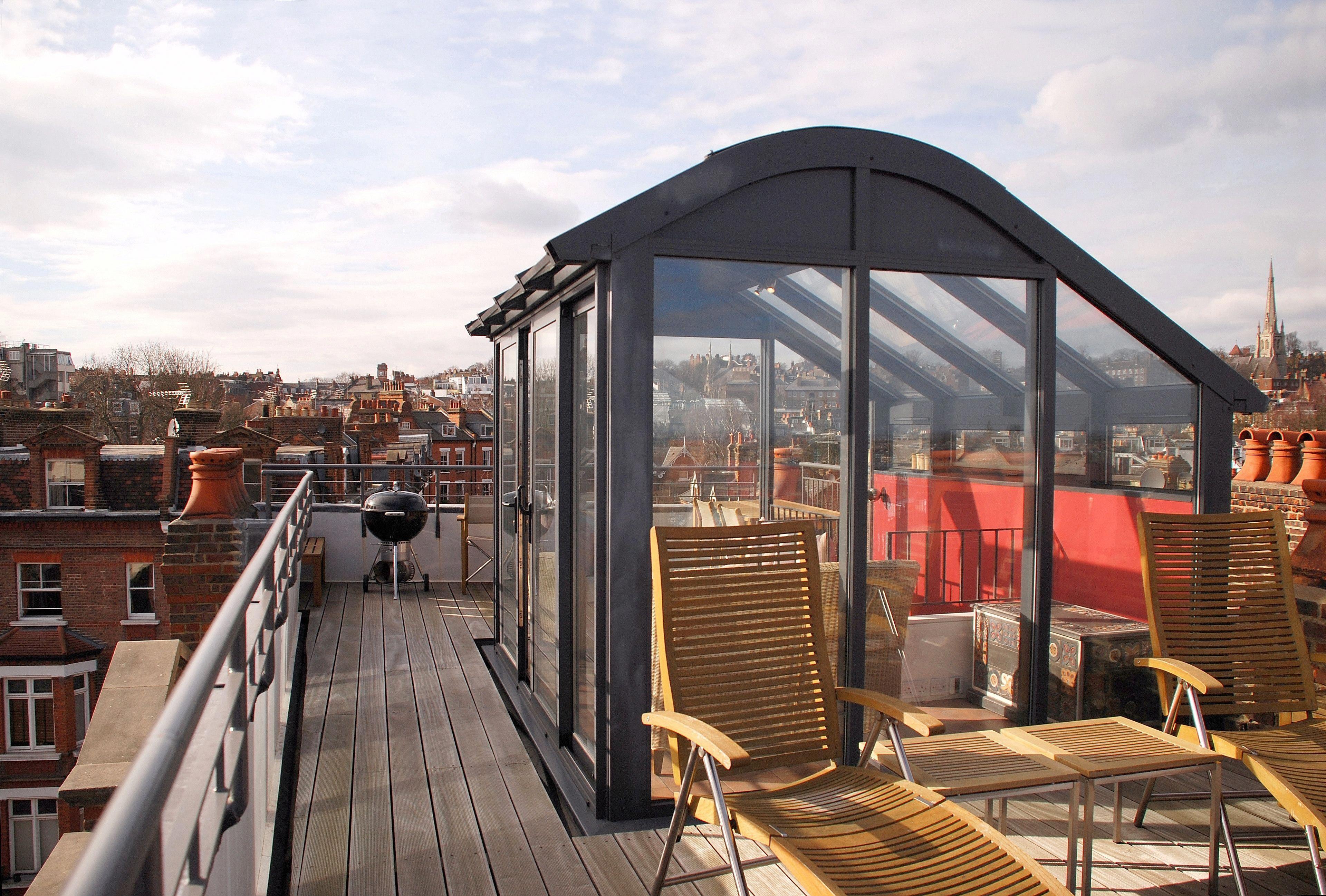 кафе с теплицей на крыше артплей фото чаши обрамляют дугообразные