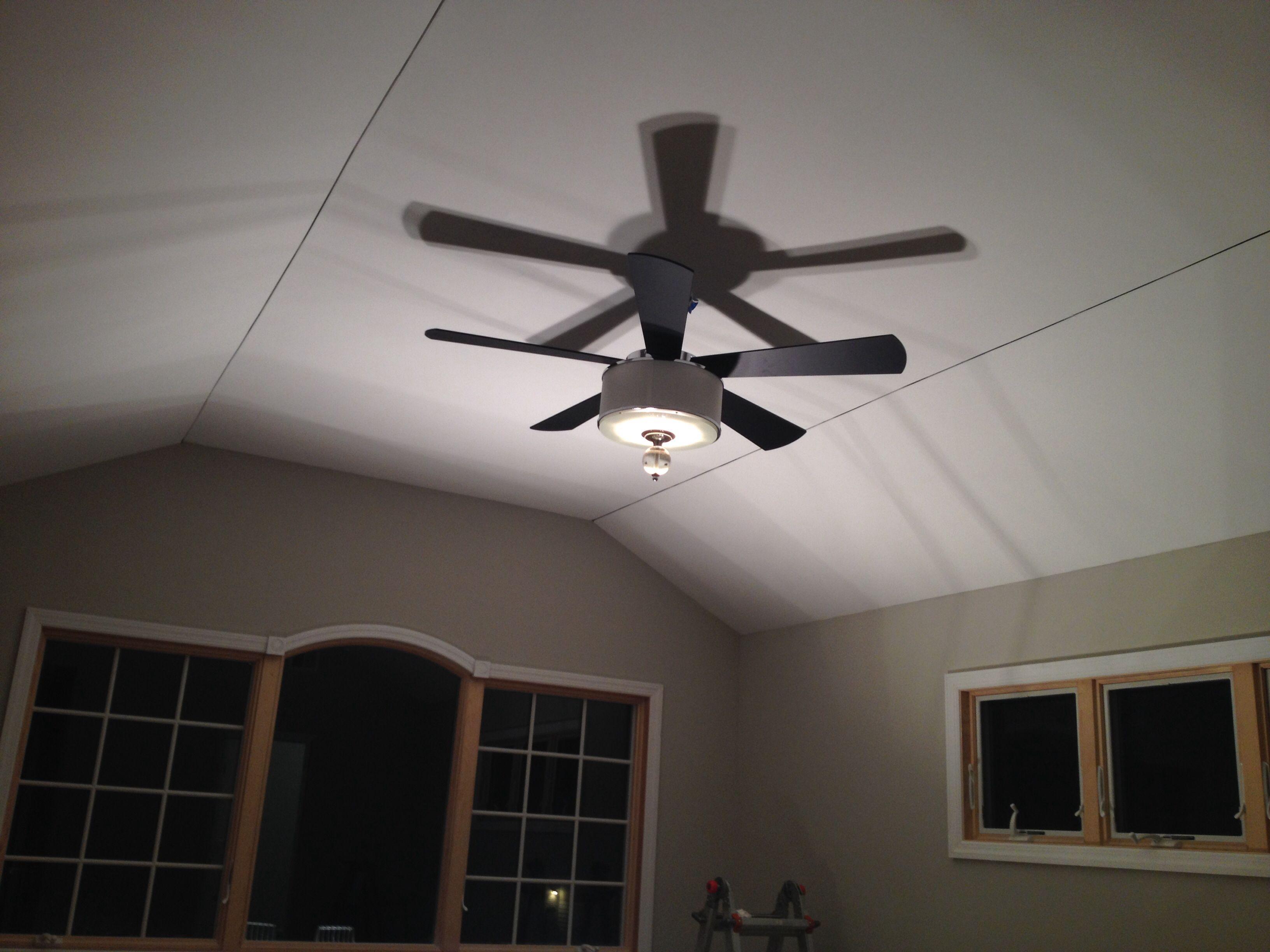 Lowes Fan. Love it!!!! Gives off zero light but it looks