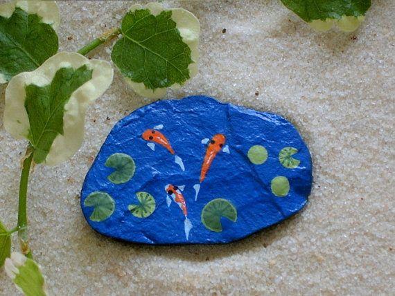 Custom listing for leeann williams koi pond summer for Koi pond rocks