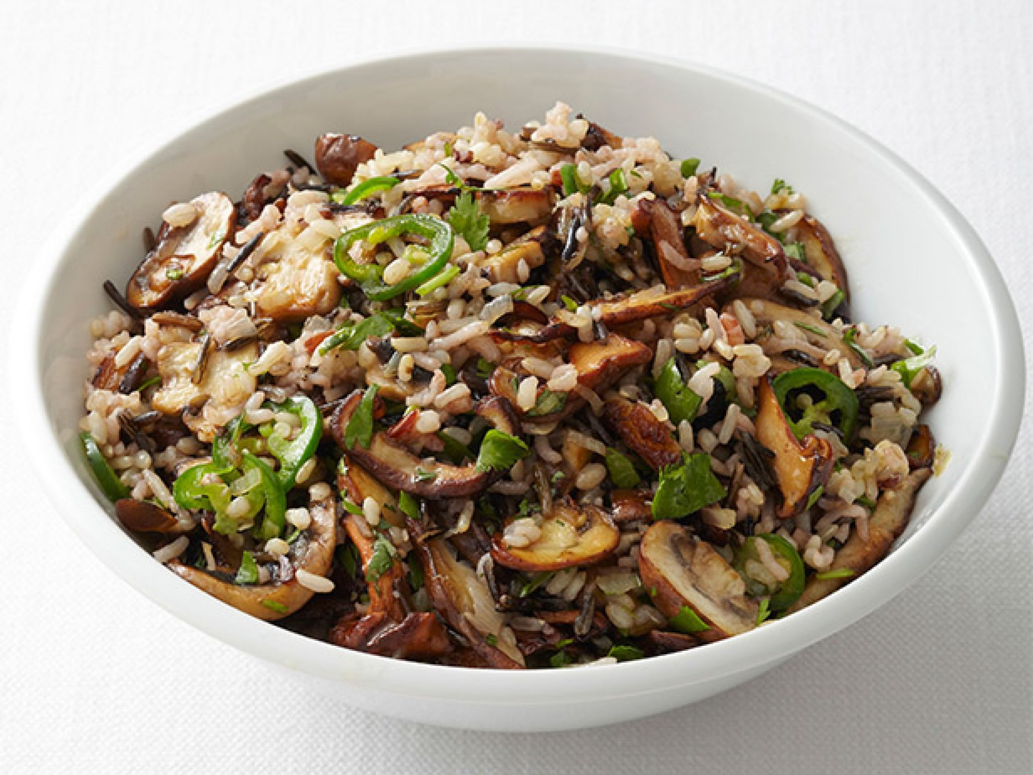 Spicy wild rice with mushrooms food network kitchen food food forumfinder Gallery