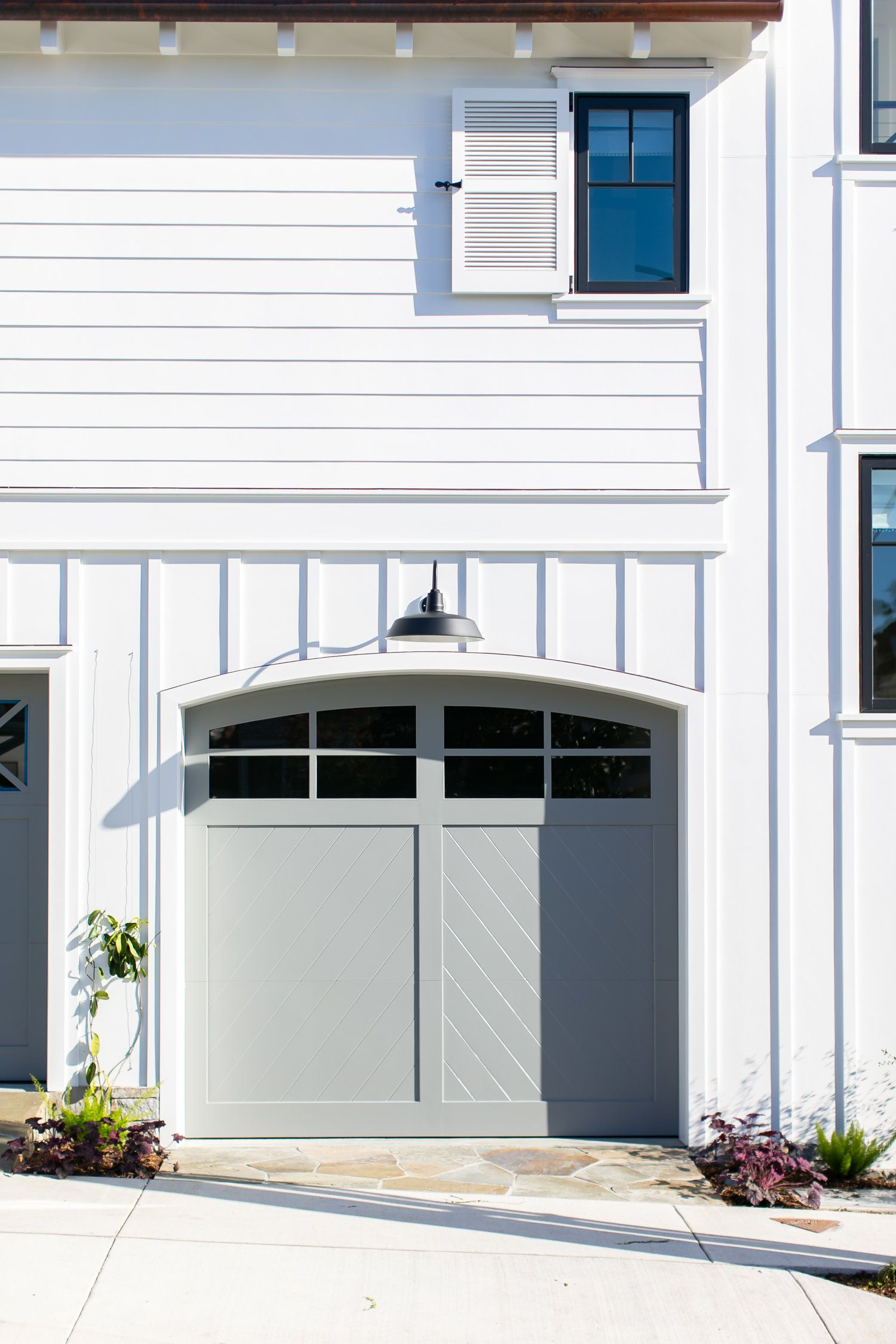 Stone Cottage Homes, Garage Door Styles