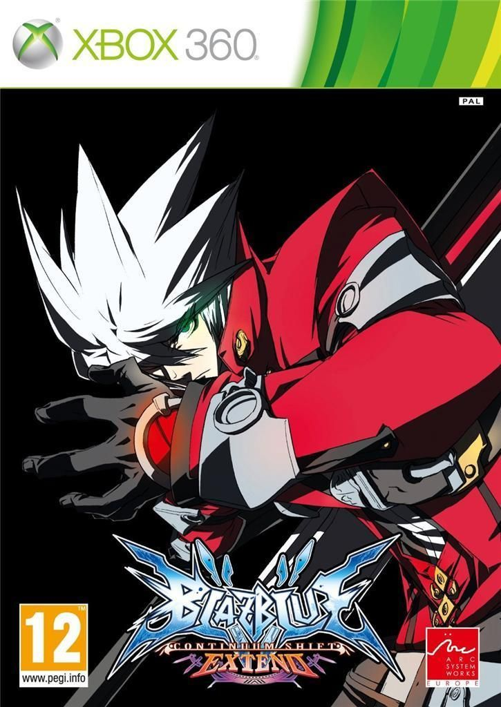 Blazblue continuum shift extend xbox 360 new sealed fast