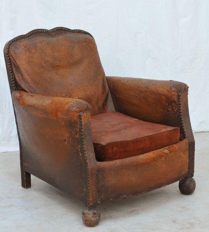 Brilliant Vintage Club Armchair 1940S Antique Furniture 1930S 30S Frankydiablos Diy Chair Ideas Frankydiabloscom