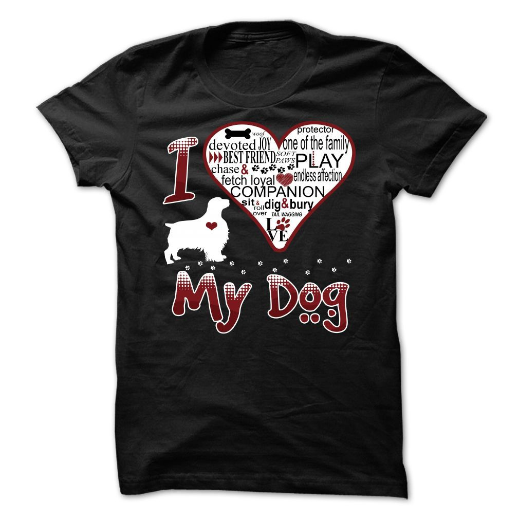 I Love My Dog - English Springer Spaniel #ilovemydogs #spaniel #spanielpuppy #spaniellife