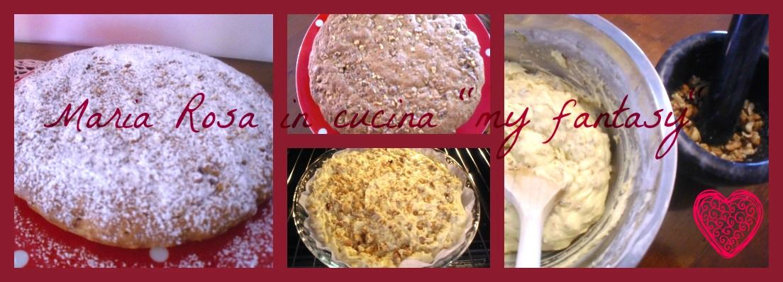 torta noci Collage