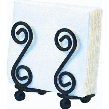 Amazon.com: Spectrum 44210 Scroll Design Napkin Holder: Kitchen & Dining