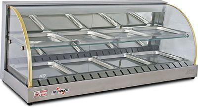 Fleetwood Fwd2 43 43 In Double Shelf Food Warmer Display Case Food Warmer Display Food Warmers Food Cart Design