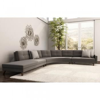 Aventura Sectional Large Modern And Contemporary Sofa Made In The Usa Advance Furniture Buffalo Ny Contemporaryfurniture