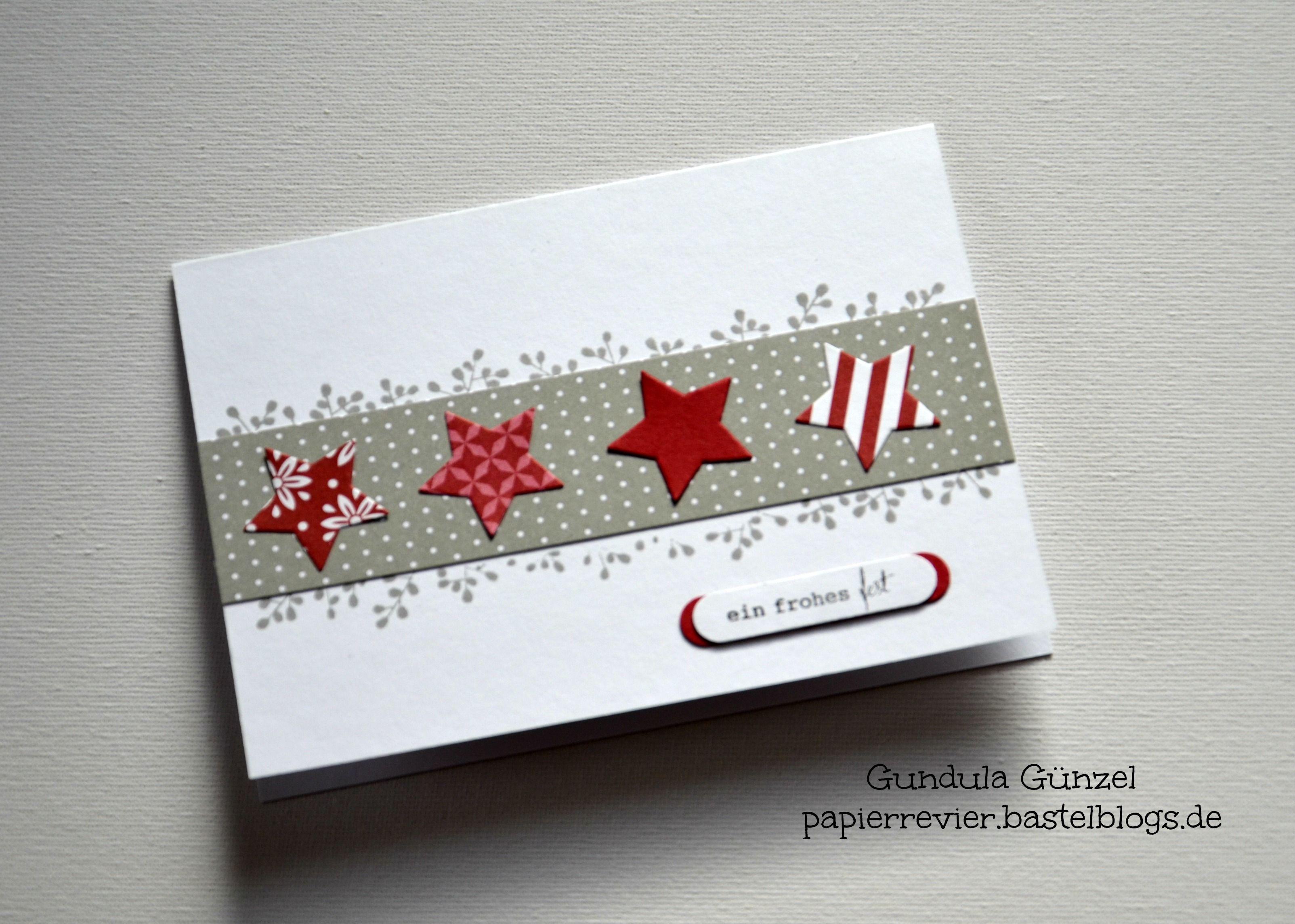 Eine schöne Weihnachtskarte | cards christmas | Pinterest | Cards ...