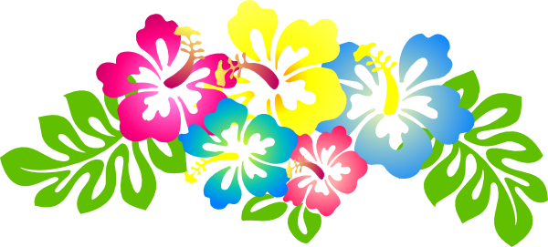hibiscus flower clip art hibiscus4 clip art vector clip art rh pinterest com hawaiian flower clip art borders hawaiian flower clipart black and white