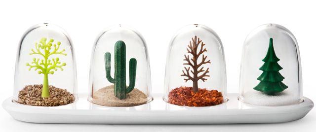 Seasoning Shakers That Look Like Little Snow Globes