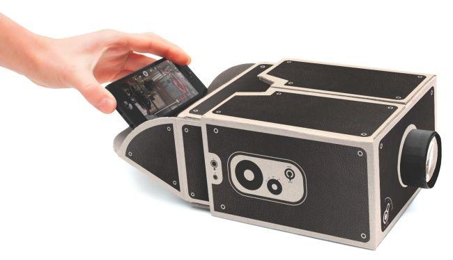 Um projetor para o seu smartphone