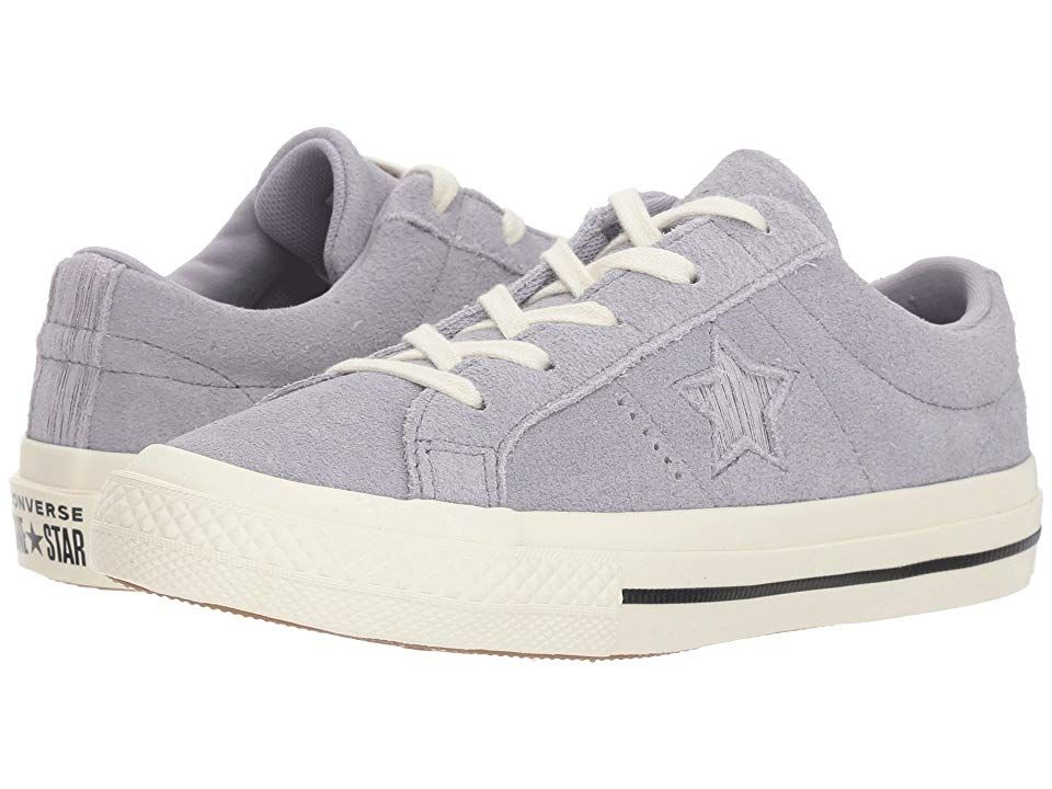 8c0a0d7229df Converse Kids One Star - Ox (Little Kid) (Provence Purple Silver Egret)  Girls Shoes. Your lil  one is a style star with the iconic Converse Kids  One Star ...
