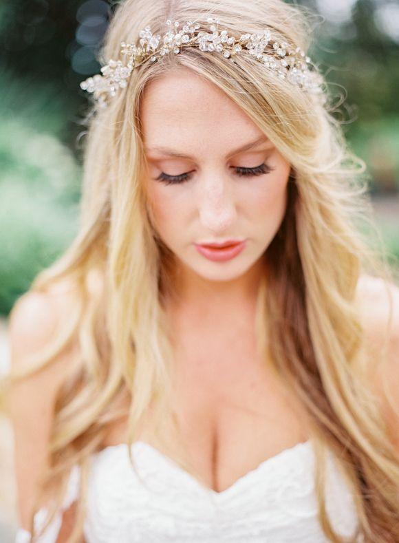 Outdoor Romantic Bridal Session   Wedding Sparrow   Becca Lea Photography