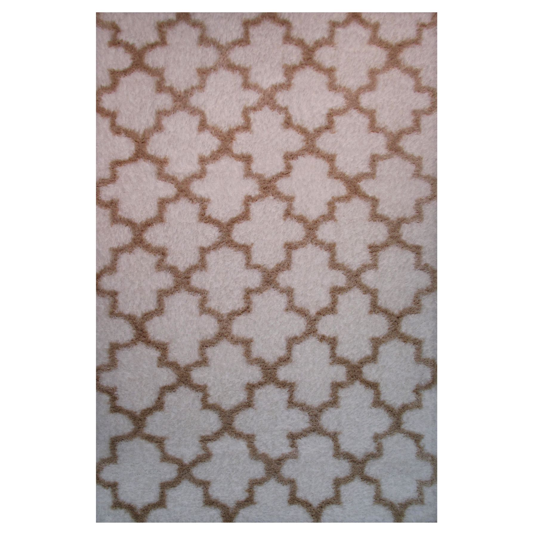 Power-Loomed Timber Collection Ivory Rug