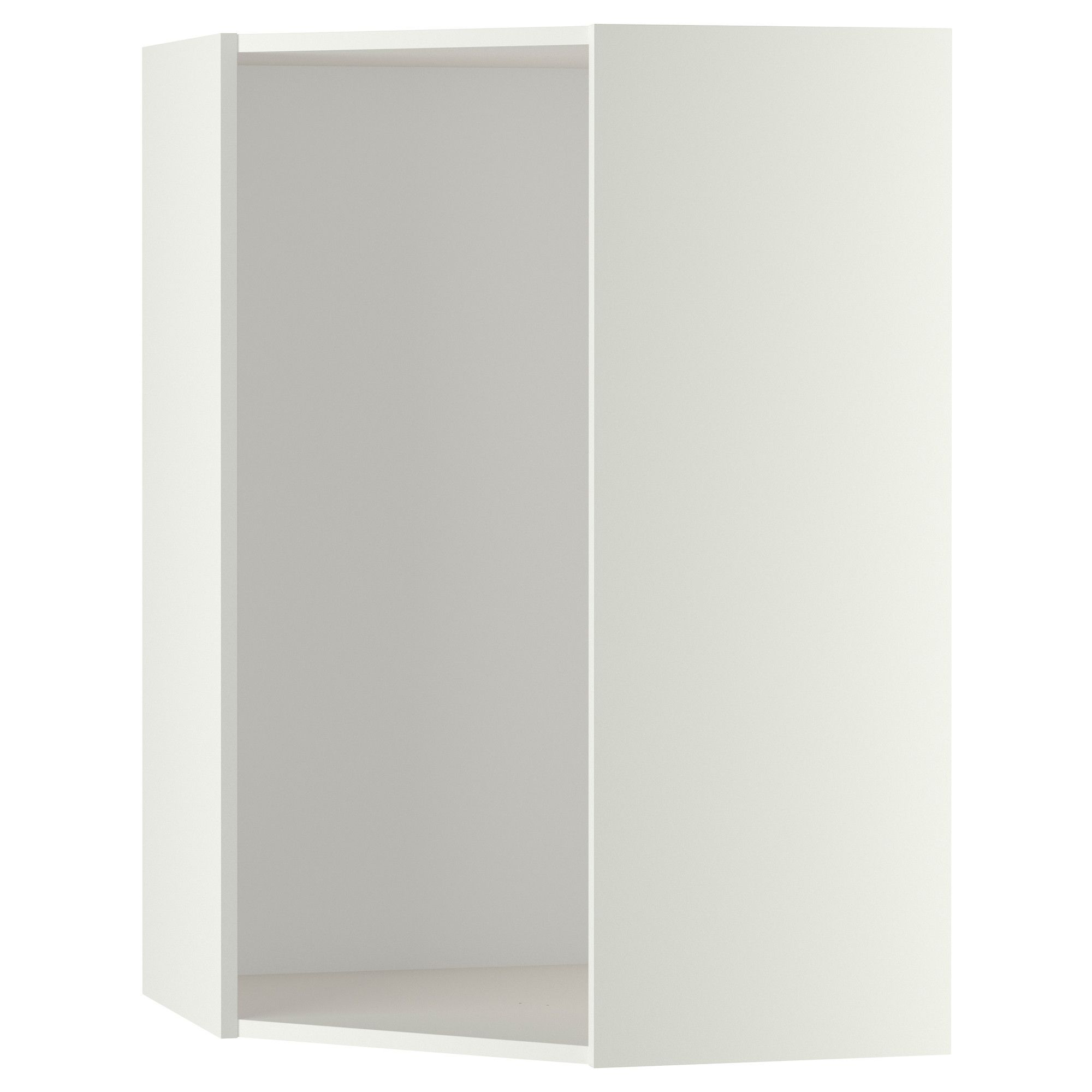 Best Metod Corner Wall Cabinet With Shelves White Askersund 400 x 300