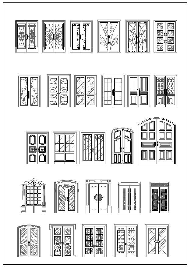 Neoclassical Design,Column Design Ideas,Column Details,Wrought iron - new world map cad free