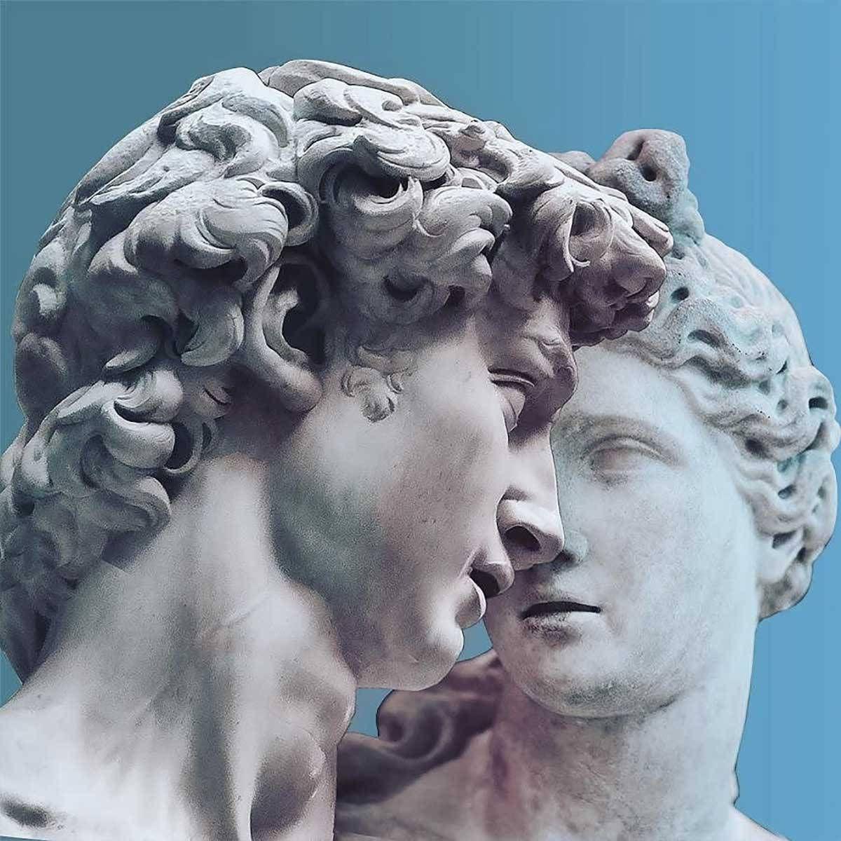 Playful Greek Statues Dan Cretu 07 In 2019 Greek Statues