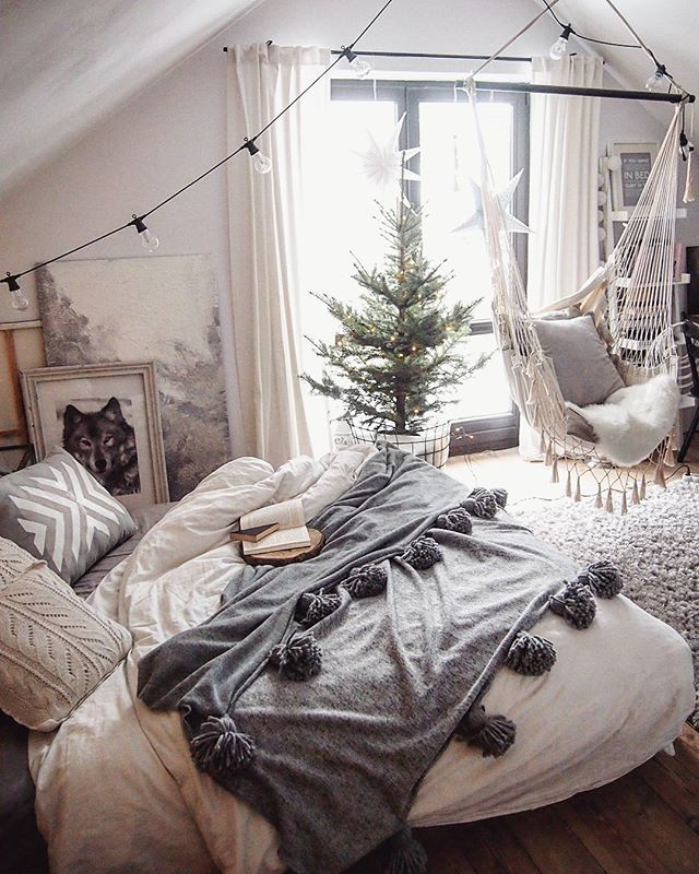 Instagram Analytics Idées Déco Pour La Chambre Future Maison Et - Canapé convertible scandinave pour noël idee deco pour chambre parentale