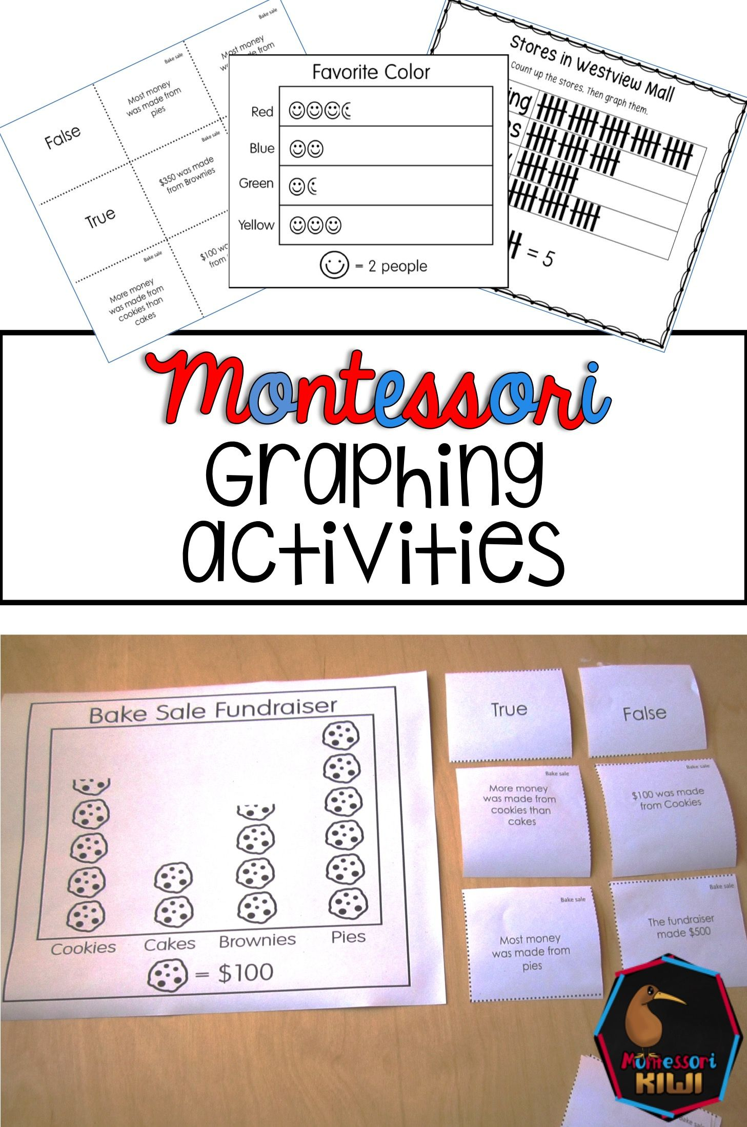 Ideal For Montessori Classes These Graphing Activities