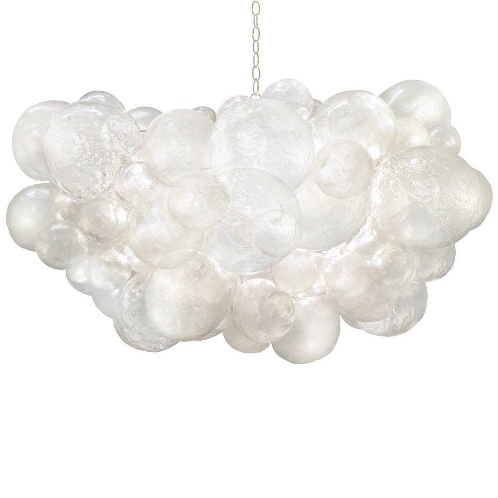 Oly Studio Muriel Cloud Clear Bubbled Chandelier Bubble Chandelier Oly Studio Chandelier Chandelier Design