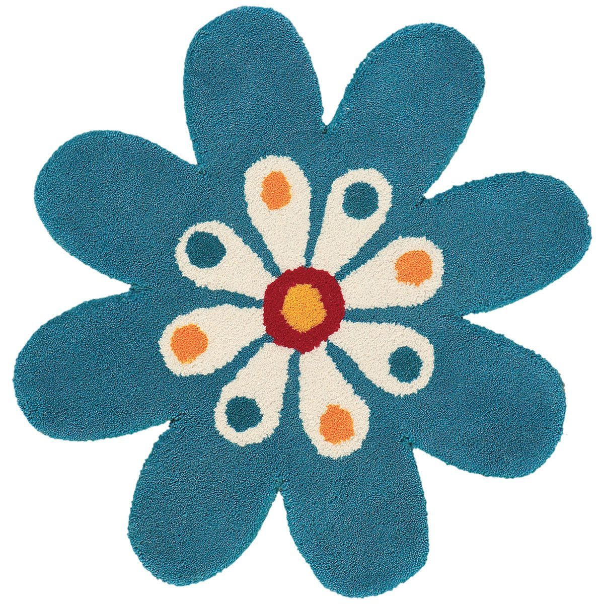 Dynamic Rugs Fantasia Flower 2' x 2' Area Rug