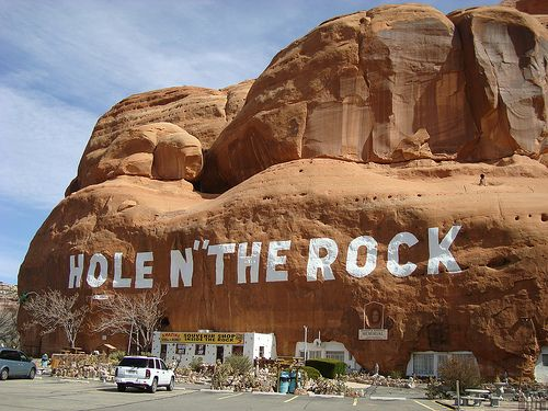 Hole N' The Rock - South of Moab, Utah | Flickr - Photo Sharing!