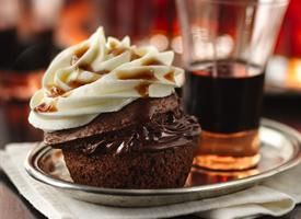 Bourbon in a cupcake?  Uh, yes, duh.