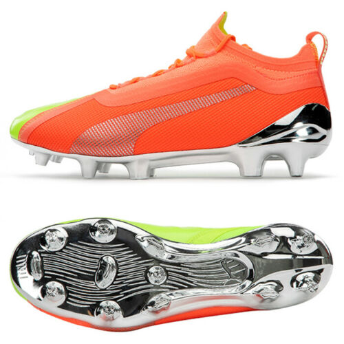Puma One 20 1 Osg Fg Ag Football Boots Shoes Soccer Cleats Orange 10595601 In 2020 Football Boots Shoe Boots Soccer Cleats